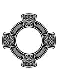 рамки кельтского креста Стоковое Изображение