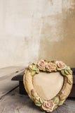 Рамки на деревянном Стоковые Фотографии RF