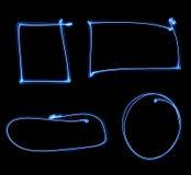 рамки освещают покрашено иллюстрация вектора