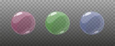 Рамки пузыря шаржа игры для анимации Стоковые Изображения RF