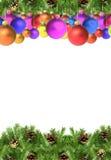 рамки рождества Стоковая Фотография RF