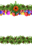 рамки рождества Стоковая Фотография