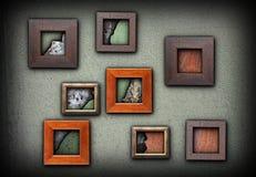 Рамки с grungy текстурами Стоковое Фото