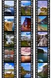 Рамки фильма - перемещение Норвегии отображает (мои фото) Стоковая Фотография RF