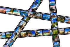 Рамки фильма - природа и перемещение (мои фото) Стоковая Фотография RF