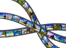 Рамки фильма - природа и перемещение (мои фото) Стоковые Фотографии RF