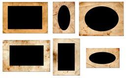 Рамки фото Grunge Стоковые Фото