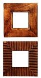 рамки 2 деревянные Стоковые Фото