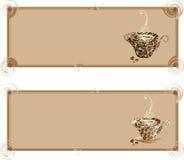 рамки coffee1 иллюстрация штока
