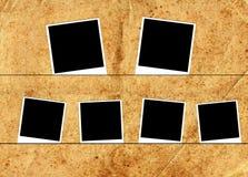 6 рамок фото Стоковые Фотографии RF