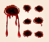 рана собрания пули Стоковое Фото