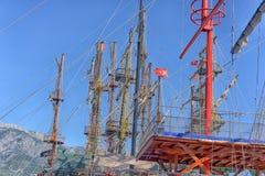 Рангоуты кораблей Стоковая Фотография RF