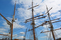 Рангоуты корабля Стоковое фото RF
