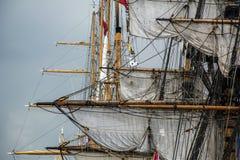 Рангоуты различных кораблей Стоковое фото RF