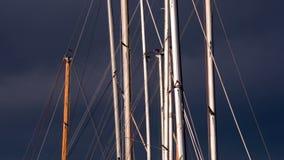 Рангоуты яхты видеоматериал