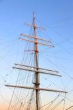 Рангоут корабля Стоковое Изображение RF