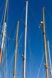 Рангоут на корабле плавания/яхте Стоковые Фотографии RF