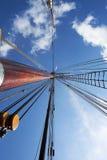 Рангоут яхты Стоковая Фотография RF