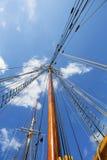 Рангоут яхты Стоковые Изображения RF