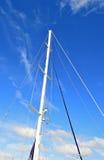 Рангоут яхты Стоковая Фотография