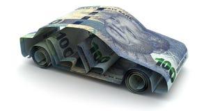 Ранд финансов автомобиля южно-африканский бесплатная иллюстрация
