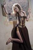 Раненая принцесса ратника Стоковые Изображения RF