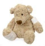 раненный игрушечный медведя Стоковое Изображение RF