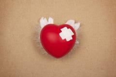 Раненое сердце Стоковое Изображение
