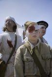 Раненые солдаты Стоковая Фотография RF