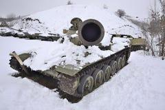 Раненый русский танк Стоковое Изображение RF
