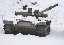 Раненый русский танк Стоковые Изображения RF