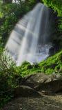 Раннее лето водопада Стоковые Изображения RF