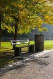 Раннее утро Луксембург паркует Стоковые Изображения