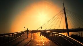 Рано утром бег Стоковые Изображения RF
