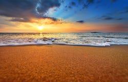 Рано утром, восход солнца Стоковое Изображение RF