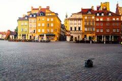 Рано утром в Варшаве, Польша Стоковые Фотографии RF