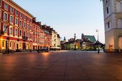 Рано утром в Варшаве, Польша Стоковое фото RF
