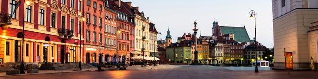 Рано утром в Варшаве, Польша Стоковая Фотография