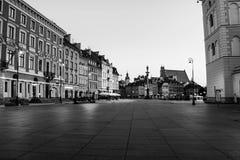 Рано утром в Варшаве, Польша Стоковое Изображение