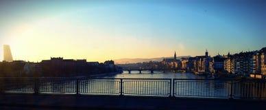Рано утром Женева Стоковое Изображение