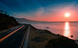 Рано утром на дороге Стоковое Изображение RF