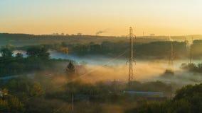 Рано утром на пригородах Стоковое Фото