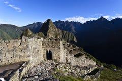 Рано утром на Machu Picchu, Перу Стоковые Изображения