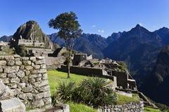 Рано утром на Machu Picchu, Перу Стоковая Фотография