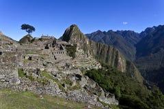 Рано утром на Machu Picchu, Перу Стоковое Изображение RF