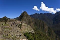 Рано утром на Machu Picchu, Перу Стоковая Фотография RF