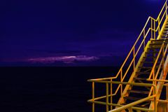 Рано утром небо Стоковое Фото