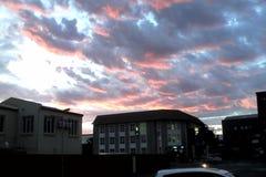 Рано утром небо стоковое изображение rf
