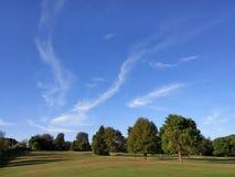Рано утром облако Стоковое Изображение RF