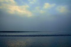 Рано утром океан Стоковое фото RF